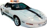 1994 Trans AM Hardtop 25th Anniversary Blue with Black Fade Decal Set