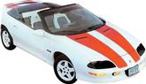 1993-97 CAMARO 30TH ANNIVERSARY STRIPE DECAL KIT T-TOPS/CONVERTIBLE (SILVER)
