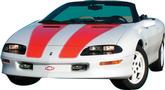 1998-02 Camaro 30Th Anniversary Stripe Decal Kit Coupe (Orange)