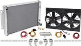 "1971-79 Impala / Full Size With Manual Trans Be Cool 27"" Core Polished Aluminum Cooling System"