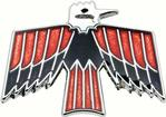 1968-69 FIREBIRD GLOVE BOX EMBLEM