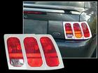 1999-2004 MUSTANG CHROME TAILLAMP BEZELS