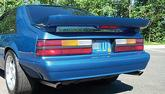 XENON REAR BUMPER COVER, 1987-93 LX