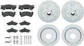 1994-97 Camaro / Firebird  Short Stop Slotted / Platted Front and Rear Rotor Upgrade Set