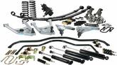 1967-74 CPP-Complete Performance Package - Silver Powdercoated Control Arms