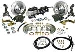1967-69 Camaro/Firebird, 1968-74 Nova HydraStop Complete Front Brake Kit - Stock Height Spindles