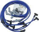 Blue Taylor Thunder Volt Big Block w/HEI Over Valve Cover Ignition Wire Set w/135° Plug Boots