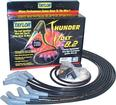 Black Taylor Thunder Volt Big Block w/HEI Over Valve Cover Ignition Wire Set w/135° Plug Boots