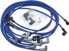 Blue Taylor Thunder Volt Big Block w/o HEI Under Headers Ignition Wire Set with 90° Plug Boots