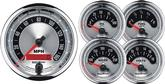"Auto Meter American Muscle 5 Piece 3 3/8"" 160 Mph Programmable Speedomet & 2 1/16"" Gauges"