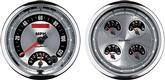 "Auto Meter American Muscle 2 Piece 5"" Quad Gauge And Tach Speedometer Combo"