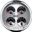 "Auto Meter American Muscle 5"" Quad Gauge"