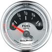 "Auto Meter American Muscle Series 2-1/16"" 240-33 OHM Electric Short-Sweep Fuel Level Gauge"