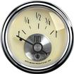 AUTO METER PRESTIGE SERIES ANTIQUE IVORY 2-1/16 0-90 OHM IN-DASH FUEL GAUGE