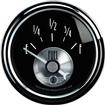 "Auto Meter Prestige Series Black Diamond 2-1/16"" 240-33 Ohm In-Dash Fuel Gauge"