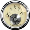 "Auto Meter Prestige Series Antique Ivory 2-1/16"" 240-33 Ohm In-Dash Fuel Gauge"