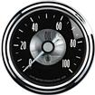 AUTO METER PRESTIGE SERIES BLACK DIAMOND  2-1/16 0-100 PSI  MECHANICAL IN-DASH OIL PRESSURE GAUGE