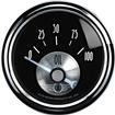AUTO METER PRESTIGE SERIES BLACK DIAMOND  2-1/16 0-100 PSI  ELECTRIC IN-DASH OIL PRESSURE GAUGE