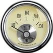 "Auto Meter Prestige Series Antique Ivory 2-1/16"" 100-250° Electric In-Dash Water Temp Gauge"