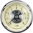 "Auto Meter Prestige Series Antique Ivory 3-3/8"" 8,000 RPM In-Dash Tachometer"