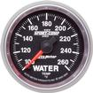 "Auto Meter Sport Comp II Series 2-1/16"" Full Sweep 100º-260º F Electric Water Temperature Gauge"