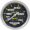 "Auto Meter Carbon Fiber Series 2-5/8"" Full Sweep 140-280º F Mechanical Trans Temperature Gauge"