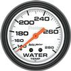 "Auto Meter Phantom Series 2-5/8"" 140º-280º F Full Sweep Mechanical Water Temperature Gauge"