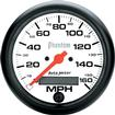 "Auto Meter Phantom Series 3-3/8"" Programmable 160 MPH Electric Speedometer"