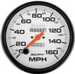 "Auto Meter Phantom Series 5"" 160 MPH Mechanical In Dash Speedometer"