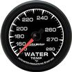 "Auto Meter ES Series 2-1/16"" Full Sweep 140º-280º Mechanical Water Temperature Gauge"