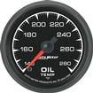"Auto Meter ES Series 2-1/16"" Full Sweep 140º-280º F Electric Oil Temperature Gauge"