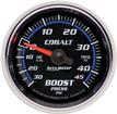 "Auto Meter Cobalt Series 2-1/16"" Full-Sweep 45 PSI / 30"" Hg Mechanical Boost / Vacuum Gauge"
