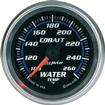"Auto Meter Cobalt Series 2-1/16"" Full Sweep 100º-260º F Electric Water Temperature Gauge"