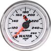 "Auto Meter C2 Series 2-1/16"" Full Sweep 100º-260º F Electric Water Temperature Gauge"