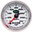 "Auto Meter NV Series 2-1/16"" Full Sweep 100º-260º F Electric Water Temperature Gauge"