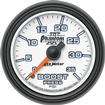 "Auto Meter Phantom II Series 2-1/16"" 35 PSI Full-Sweep Mechanical Boost Gauge"