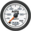 "Auto Meter Phantom II Series 2-1/16"" Full-Sweep 0-100 PSI Electric Fuel Pressure Gauge"