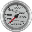"Auto Meter Ultra-Lite II Series 2-5/8"" Full Sweep 120º-240º F Mechanical Water Temperature Gauge"