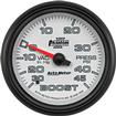 "Auto Meter Phantom II Series 2-5/8"" 45 PSI / 30"" Hg Mechanical Full-Sweep Boost / Vacuum Gauge"