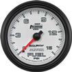 "Auto Meter Phantom II Series 2-5/8"" Full-Sweep 15 PSI Mechanical Fuel Pressure Gauge"