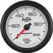 "Auto Meter Phantom II Series 2-5/8"" Full Sweep 0-100 PSI Mechanical Oil Pressure Gauge"