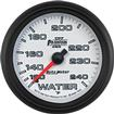 "Auto Meter Phantom II Series 2-5/8"" Full Sweep 120º-240º F Mechanical Water Temperature Gauge"