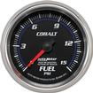 "Auto Meter Cobalt Series 2-5/8"" 15 PSI Mechanical Full-Sweep Fuel Pressure Gauge"