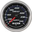 AUTO METER COBALT SERIES 2-5/8 120�-240� F FULL SWEEP MECHANICAL WATER TEMPERATURE GAUGE