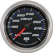 AUTO METER COBALT SERIES 2-5/8  140�-280�  F MECHANICAL FULL SWEEP OIL TEMPERATURE GAUGE