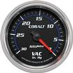 "Auto Meter Cobalt 2-5/8"" Full Sweep 0-30 In. Hg Mechanical Vacuum Gauge"