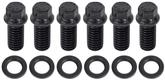 Black Oxide Hex Head Motor Mount to Block Bolt Set