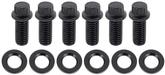 Pontiac Motor Mount Bolt Set Black Oxide - 12 Point Head