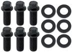 Pontiac Motor Mount Bolts Black Oxide - Hex Head
