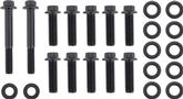 Pontiac 350-400 Black Oxide 12-Point Head Intake Manifold Bolt Set